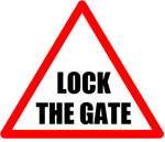 Lock The Gate logo