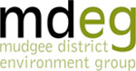 Mudgee District Environment Group logo