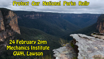 Protect Our National Parks Rally