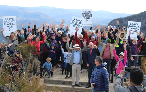 Rally at Cahills Lookout